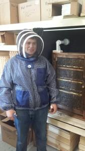 Blue 3 layer jacket